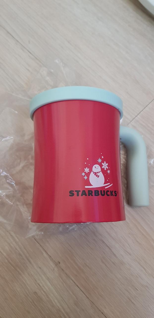 스타벅스 스텐머그 미사용 실리콘뚜껑 머그컵