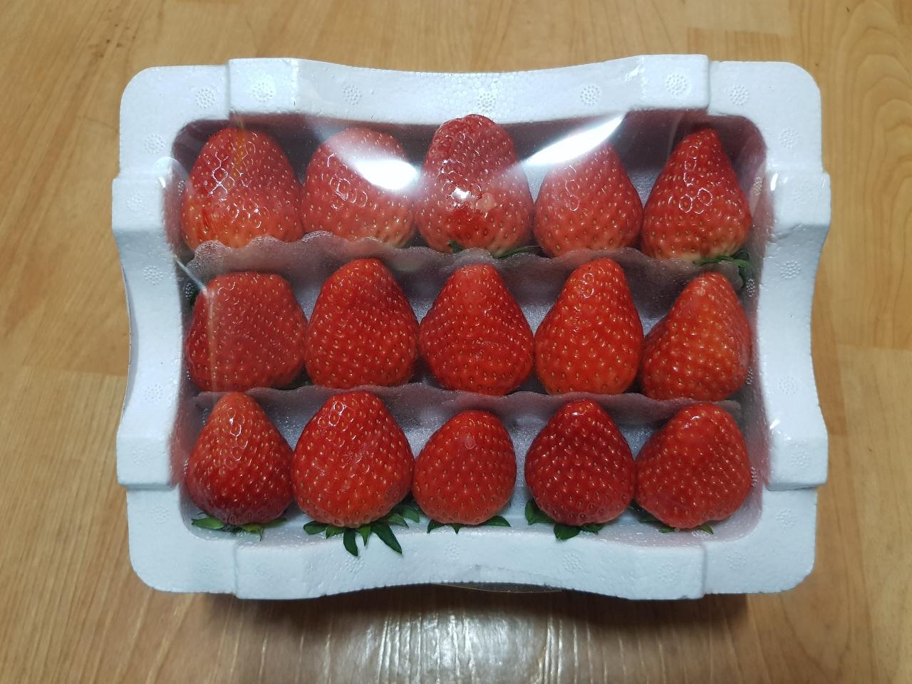 딸기 판매