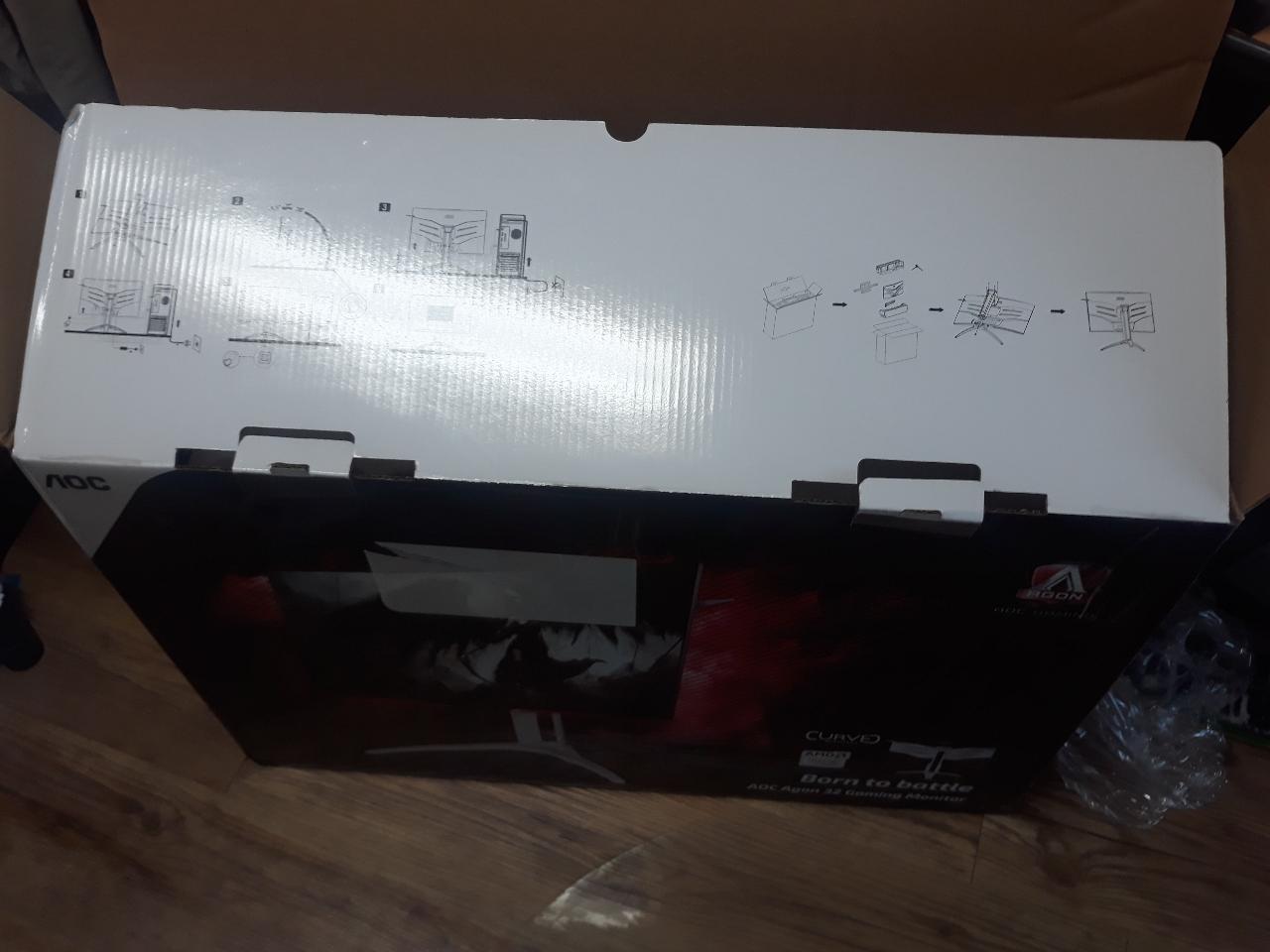 게임용 32인치 커브드 모니터