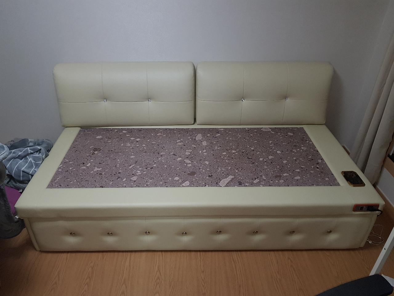 돌침대 싱글 소파형 침대형 사용가능