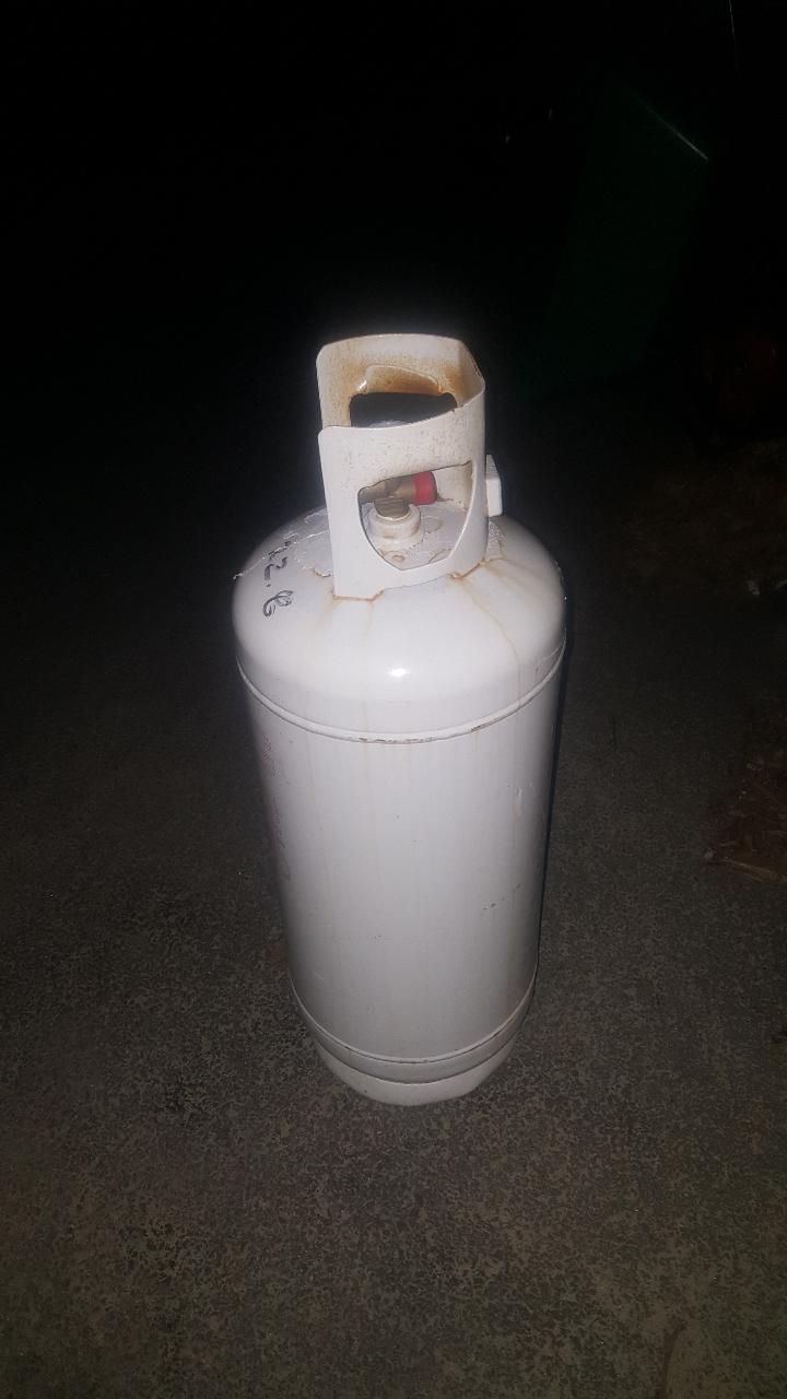 20키로 가정가스렌지용 LPG가스통(서귀포)