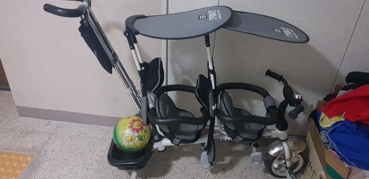 유아자전거. 쌍둥이자전거. 2인용자전거