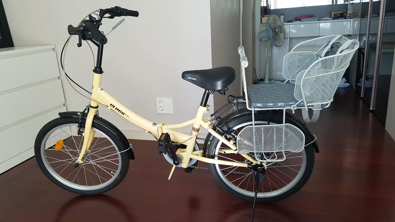 아이와 함께 탈 수있는 자전거