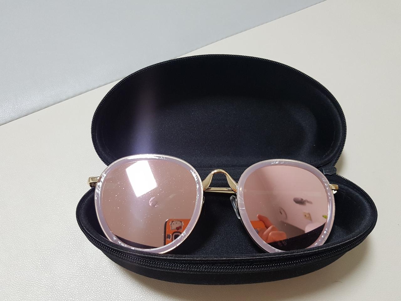 여자 미러썬글라스(1.2번착용)
