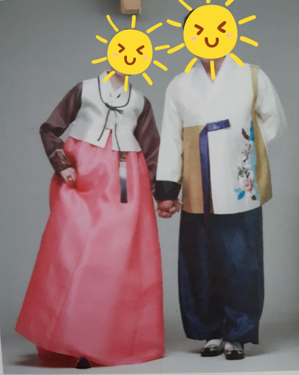 신랑신부 한복 돌잔치한복