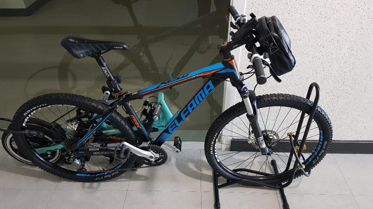 ELFAMA/엘파마 MTB 자전거 풀셋 27단 출퇴근용
