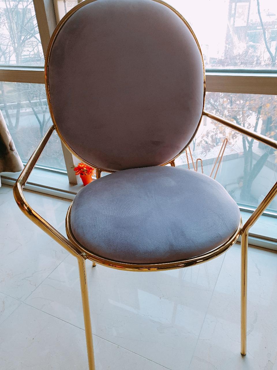 벨벳의자 카페의자 인테리어갑 의자