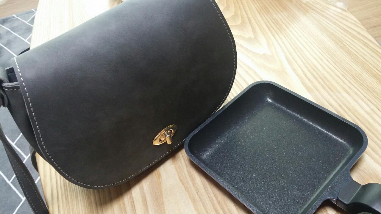 가방.미니프라이팬- 새상품