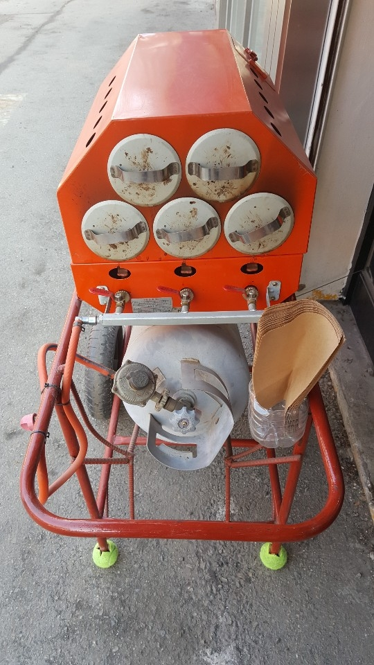 군고구마기계(가스식)