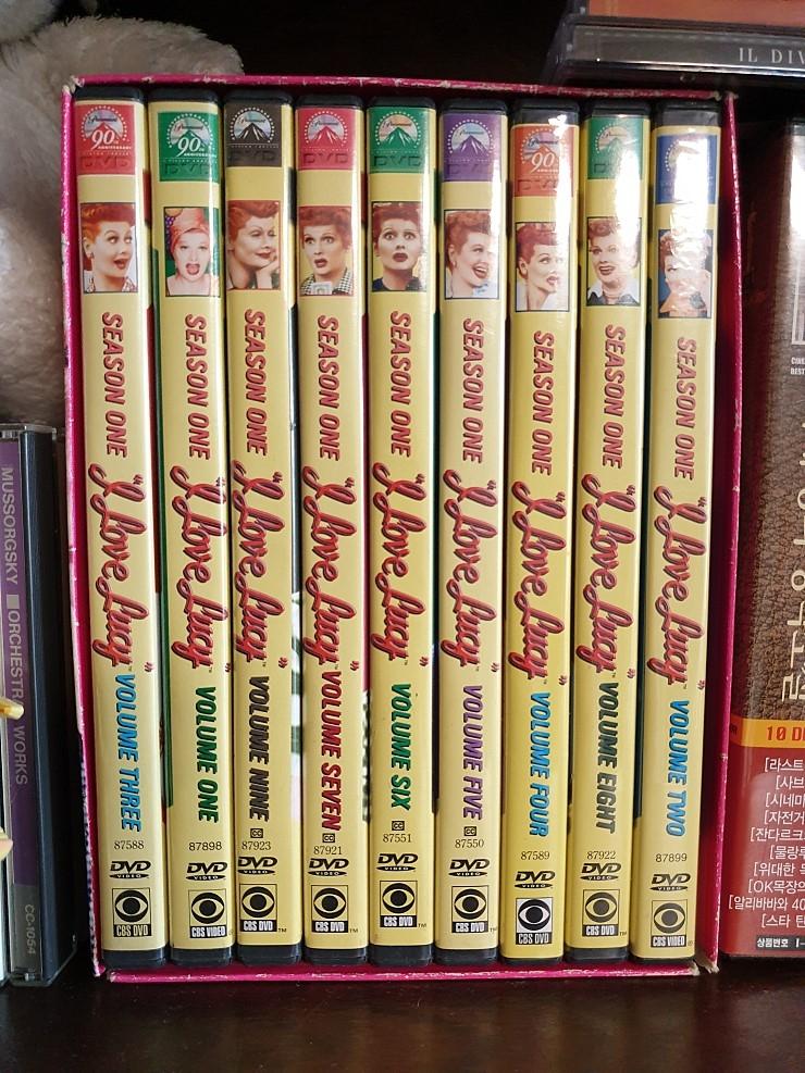 I LOVE LUCY 미국 클래식 코메디 DVD