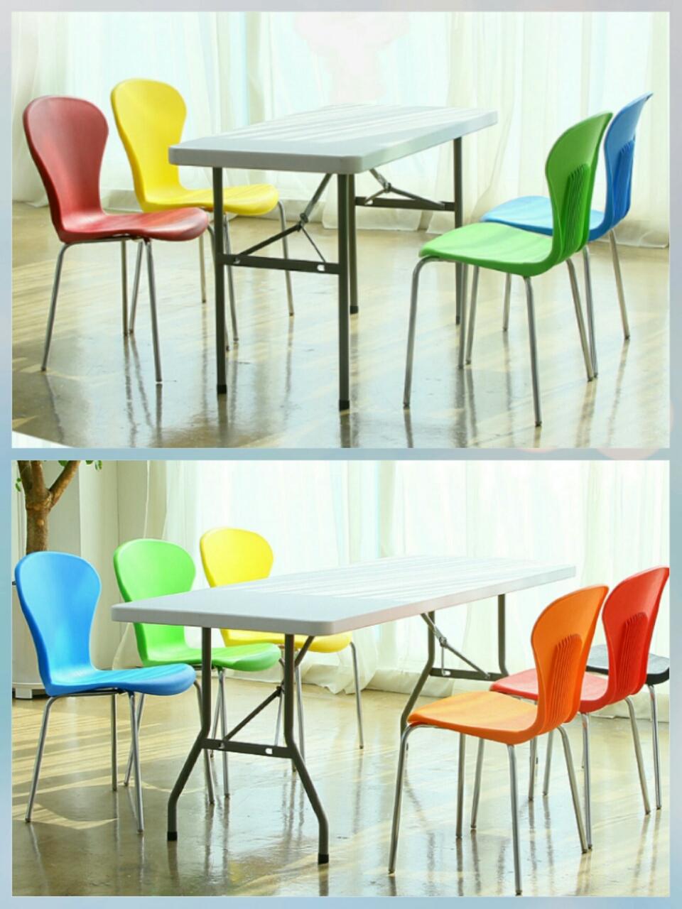 🌹플라스틱 의자 각각
