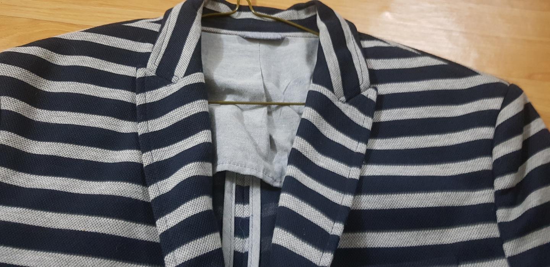 줄무늬 자라 남자자켓