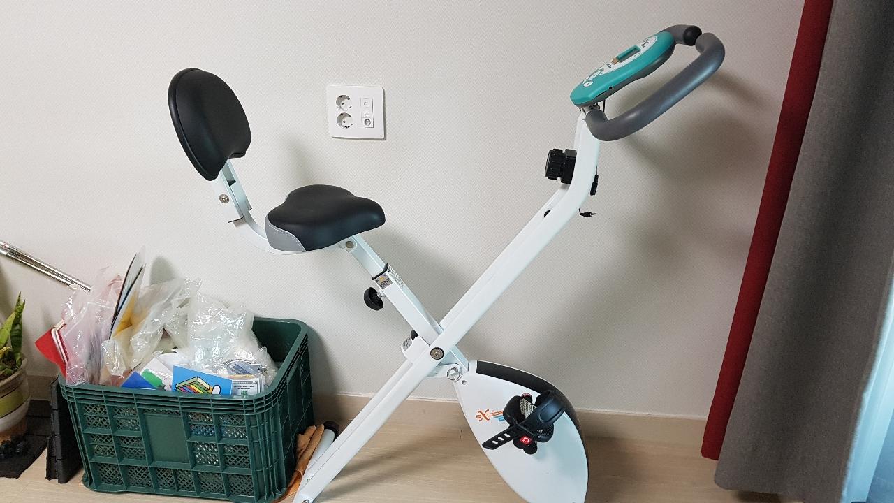 실내자전거. 헬스자전거.등받이형.엑사이더 헬스바이크.