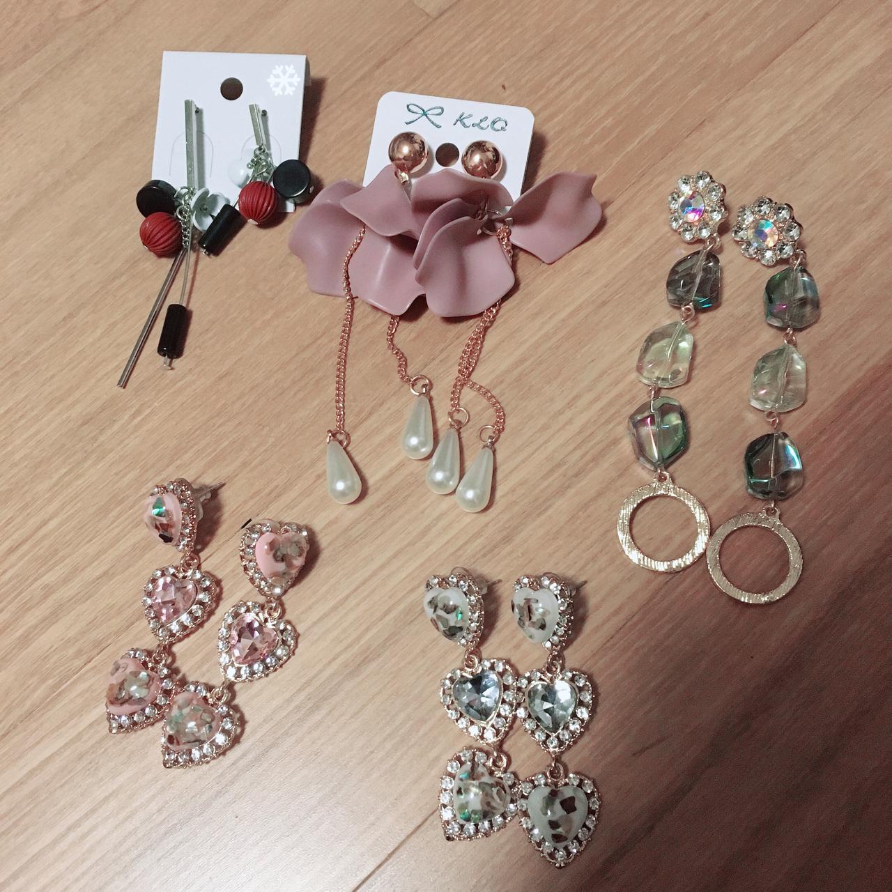 새상품)귀걸이일괄1만3천원