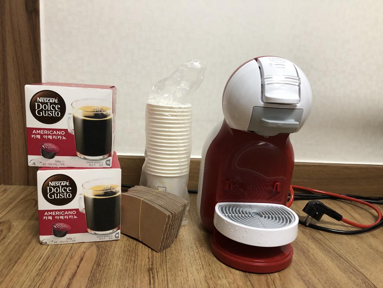 커피머신+캡슐포함