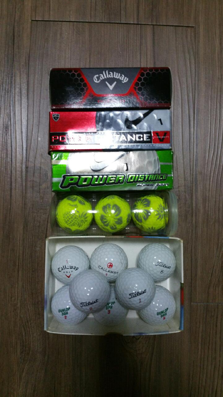 캘러웨이, 타이틀리스트, 던롭, 나이키 골프공 팔아요 - 사은품으로 테일러메이드 골프채 헤드커버 드려요