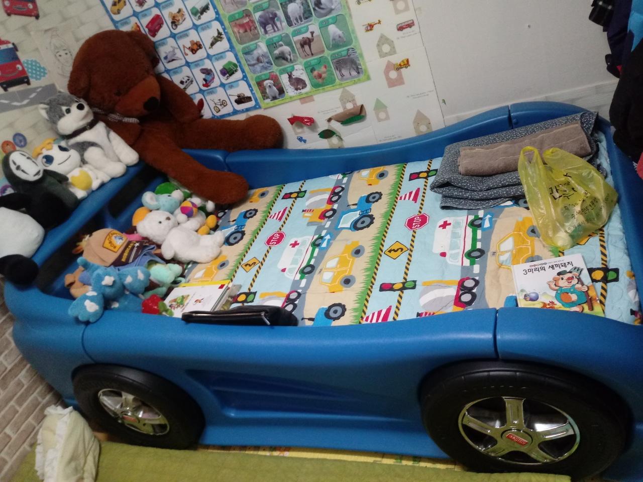 유아자동차침대