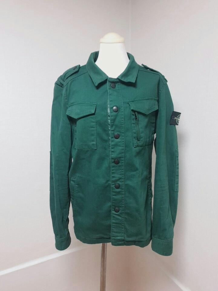스톤아일랜드 셔츠 자켓