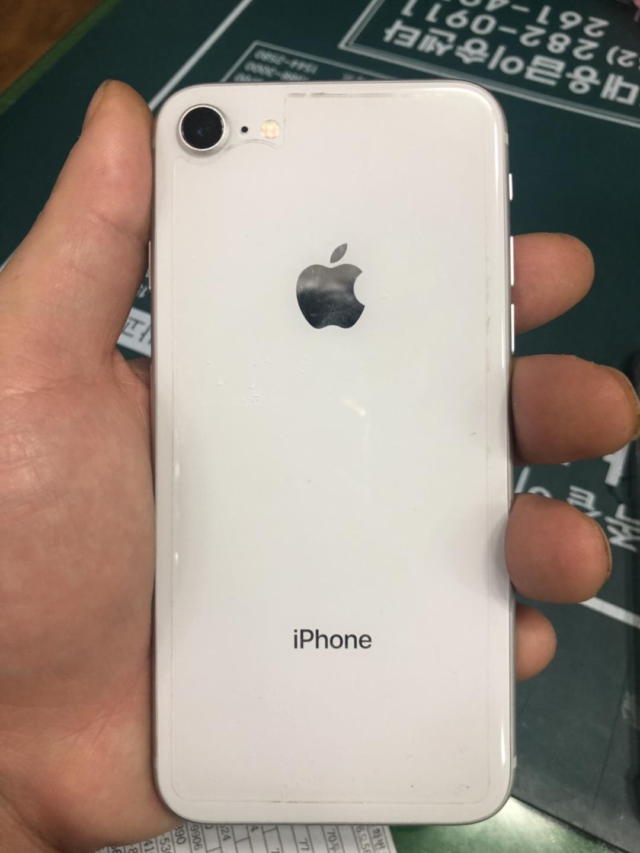 아이폰8 실버 64기가 아이폰x랑  교신해요