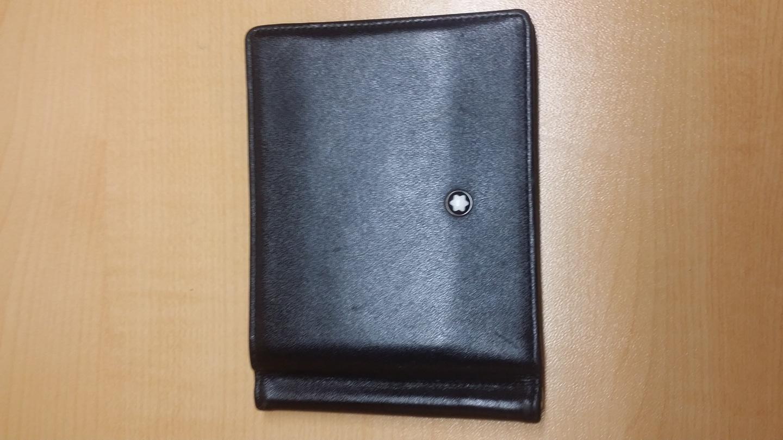 정품 몽블랑 머니클립 반지갑 108945