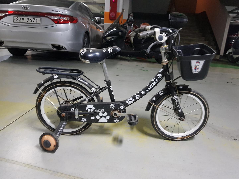유아 자전거