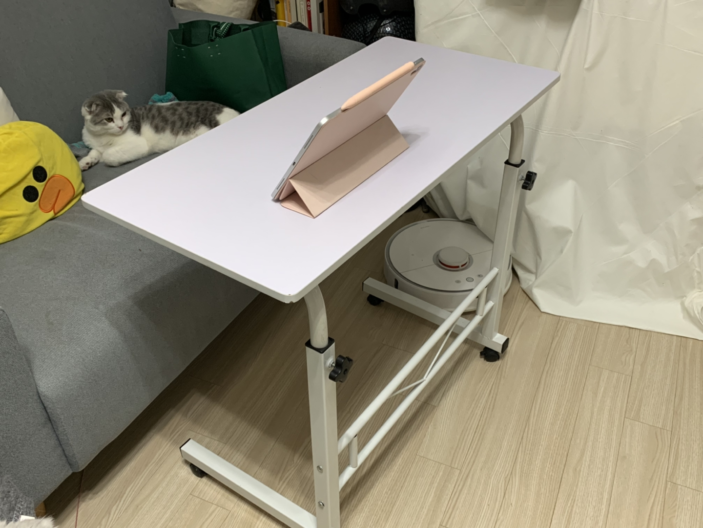 사이드 테이블 (높이 조절가능)