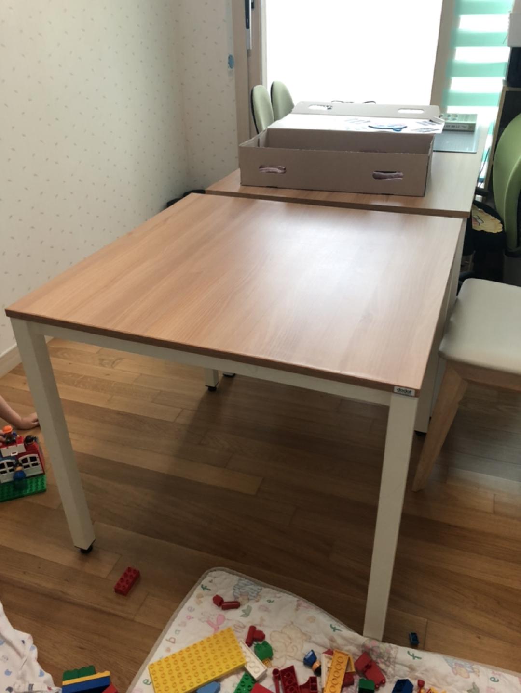 두닷 책상 테이블 800*800