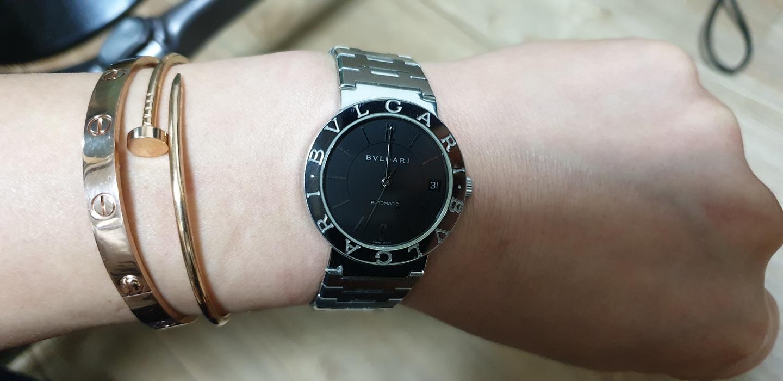 정품 시계 남녀공용 33mm불가리 정품시계