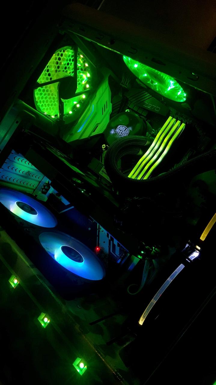 ♡i7-7700 인텔 7세대 카비레이크 수냉 컴퓨터 본체 gtx1070♡