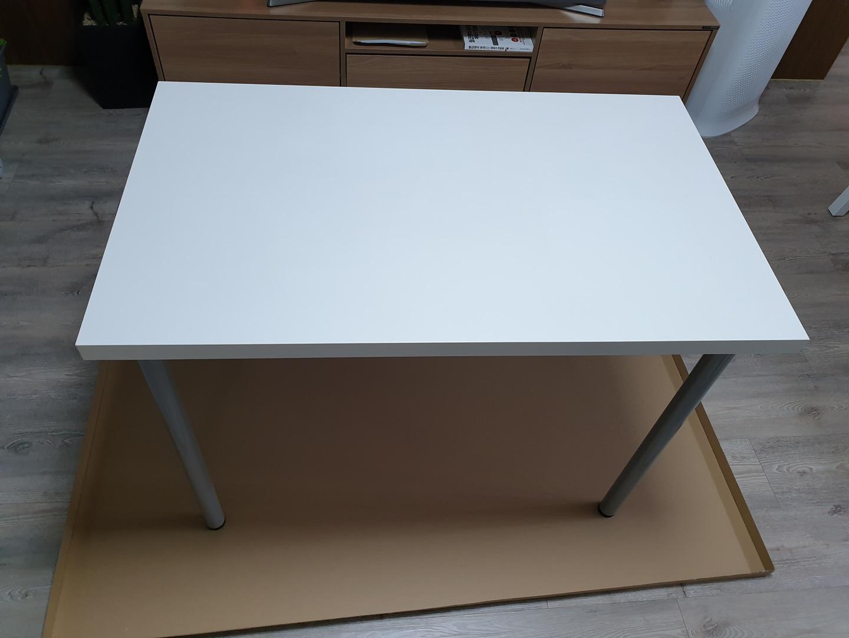 이케아 테이블 100×60 LINNMON+ADILS