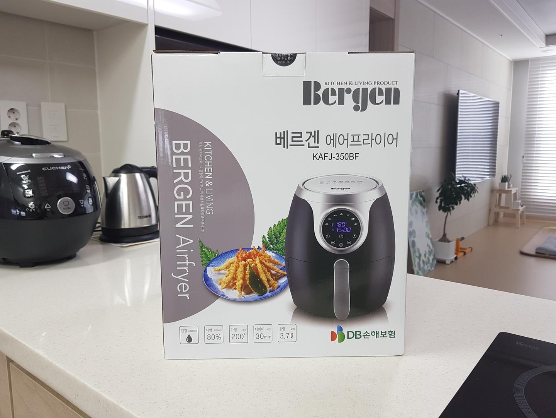 미사용 베르겐 에어프라이어 3.7L