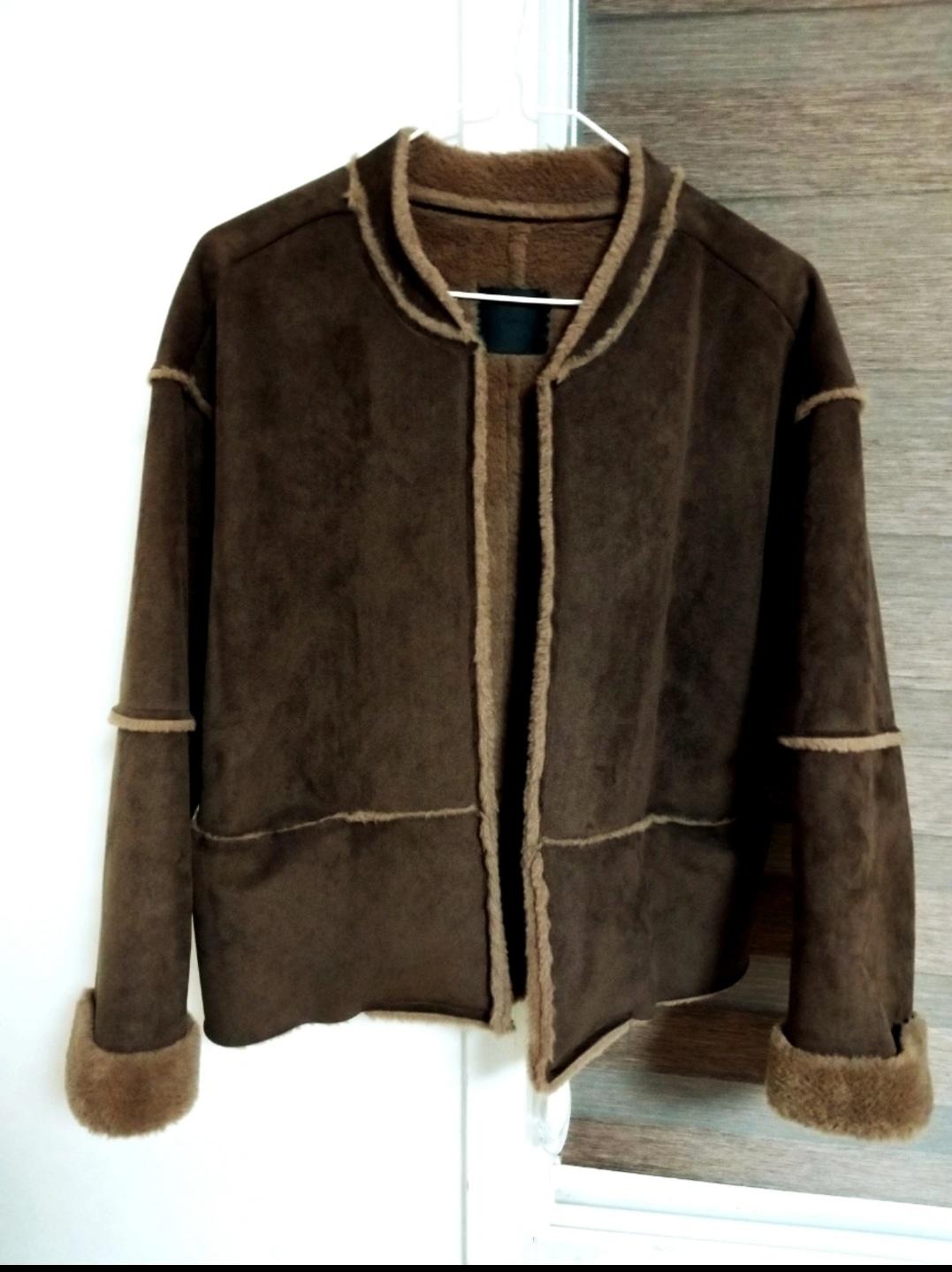 스웨이드 쟈켓