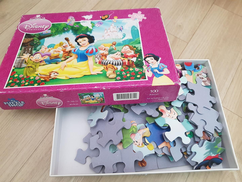 백설공주 퍼즐 100pcs