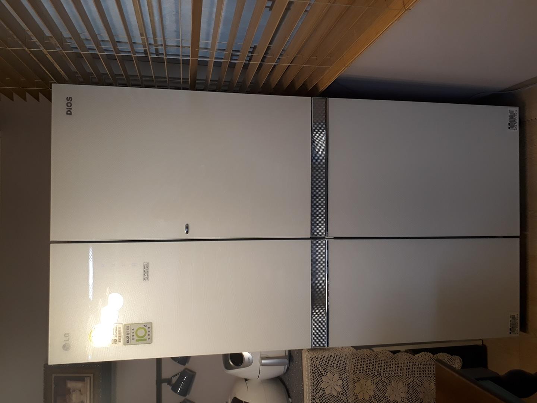 엘지 디오스 양문 냉장고