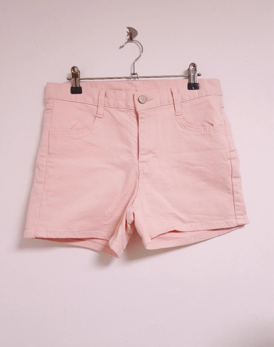 (L) 핑크 반바지