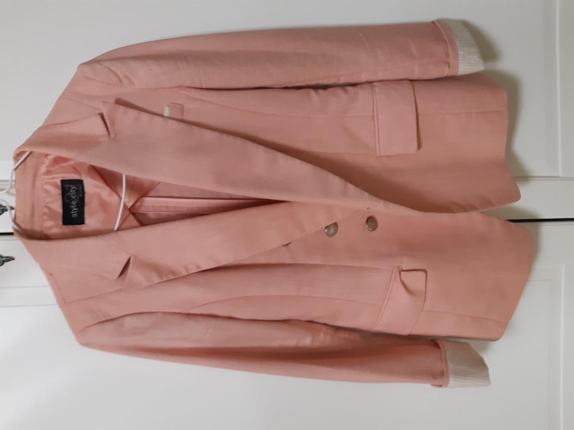 핑크 봄 자켓