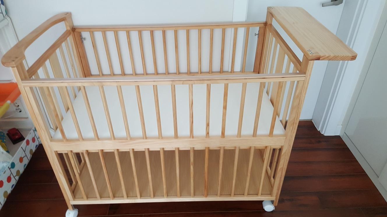 보니스마트원목아기침대