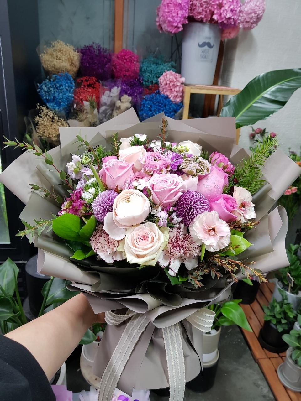 예쁜꽃다발