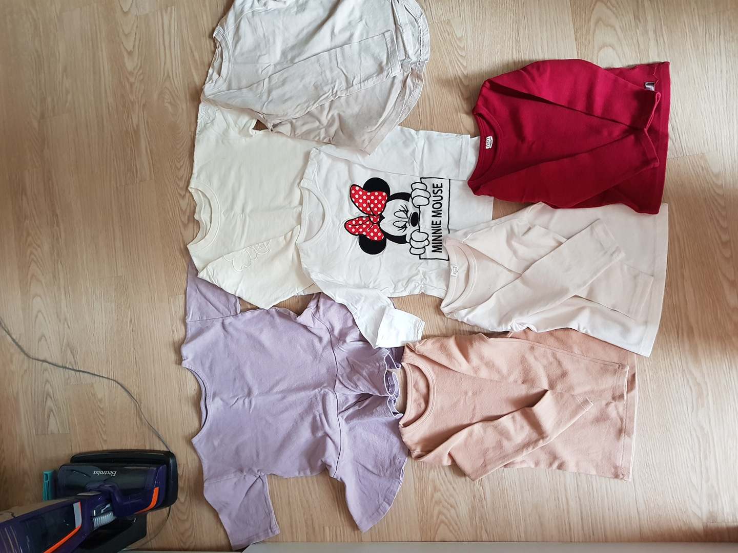 티셔츠7개