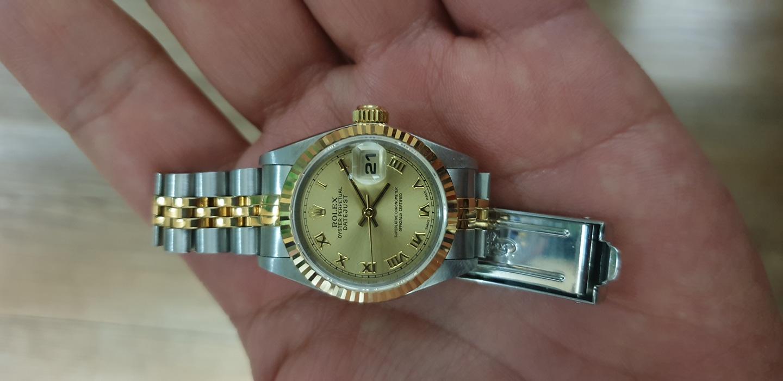 가격내림 정품 시계 로렉스 여성용 26mm 69173