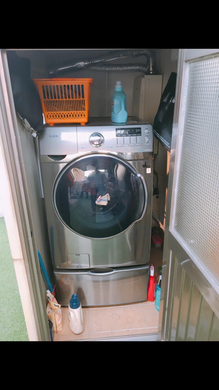 삼성 드럼세탁기 17kg 하단 서랍(수납장)
