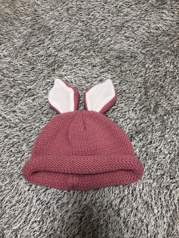 여아용 토끼 모자