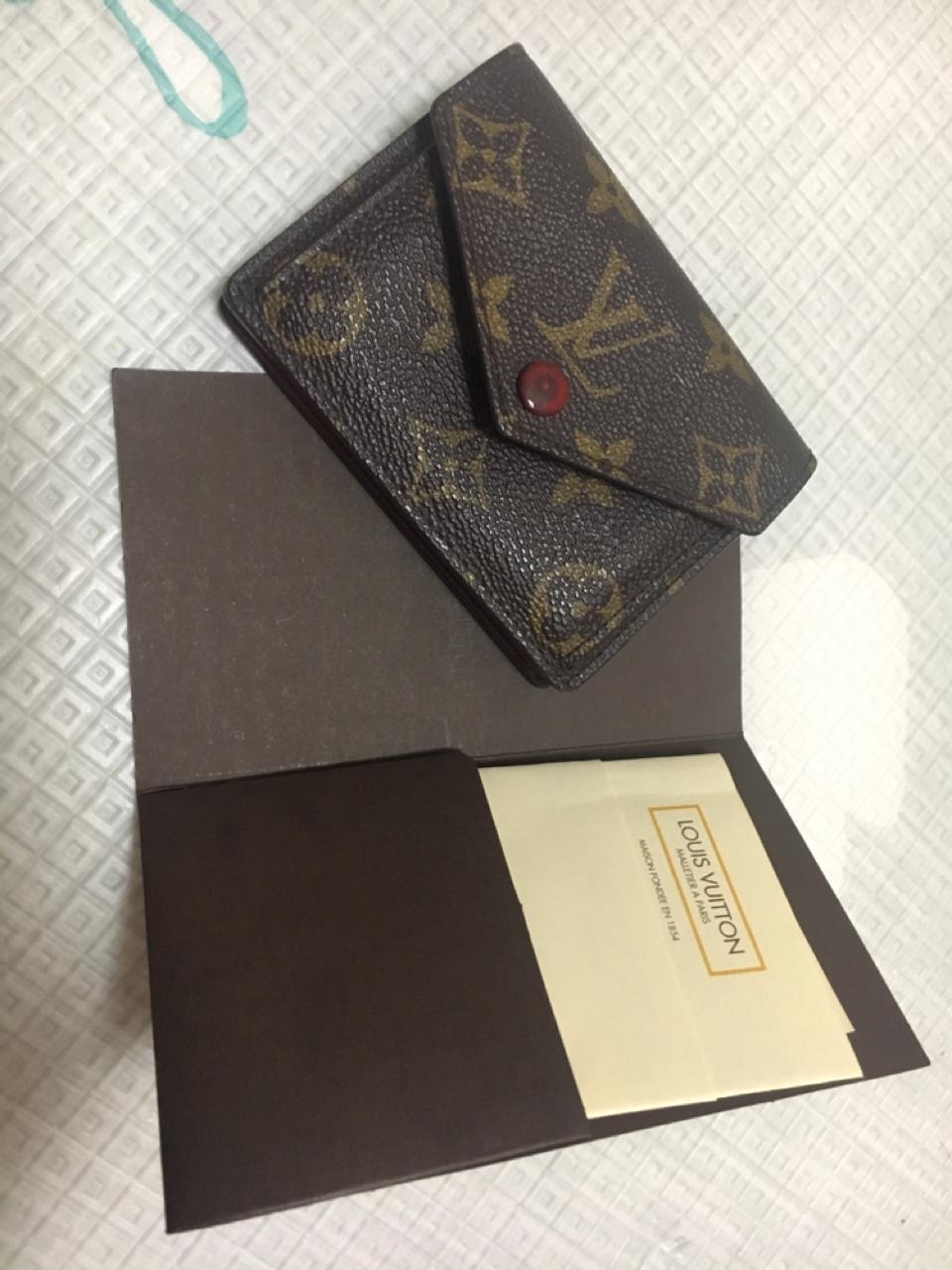 marie mono 마이월릿 루이비통 반지갑 이니셜 마킹됨