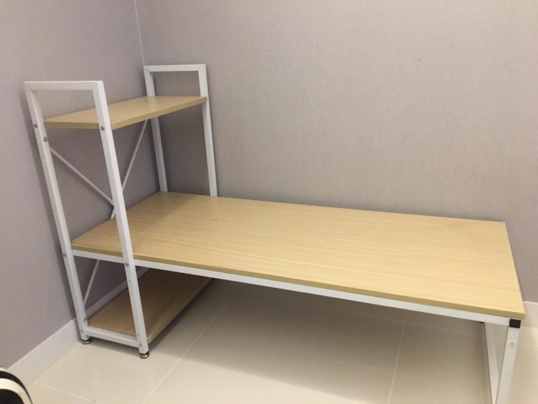 좌식책상/컴퓨터좌식책상/화이트톤