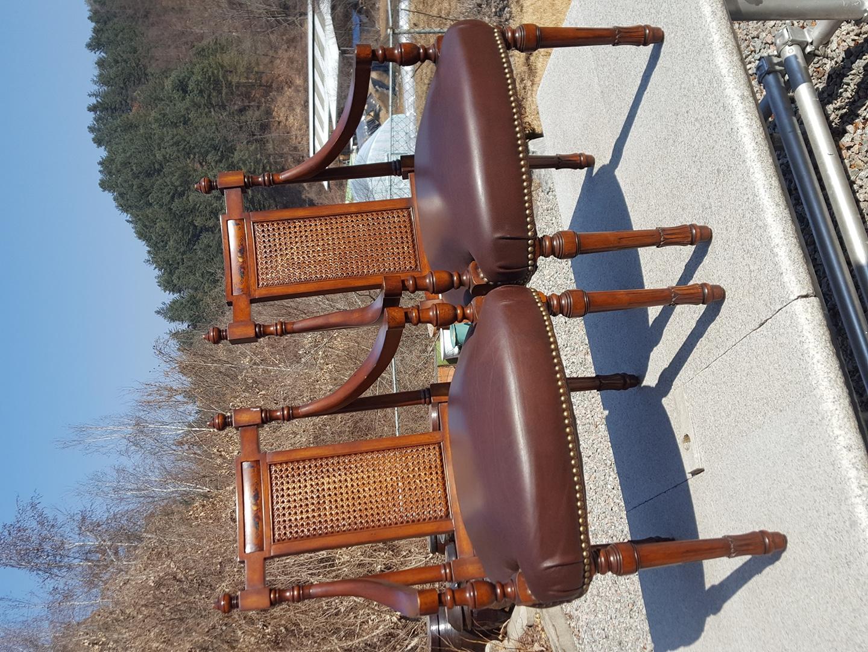엔틱  의자 2개