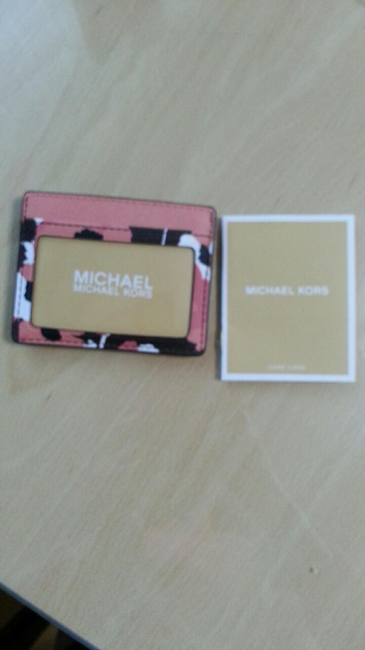 (새제품)마이클 코어스 카드홀더(카드지갑)