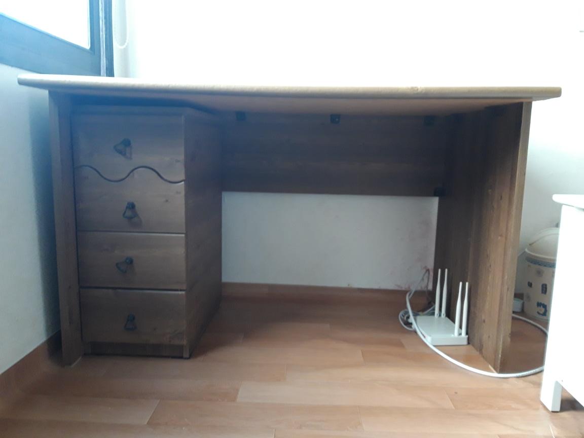 원목 책상