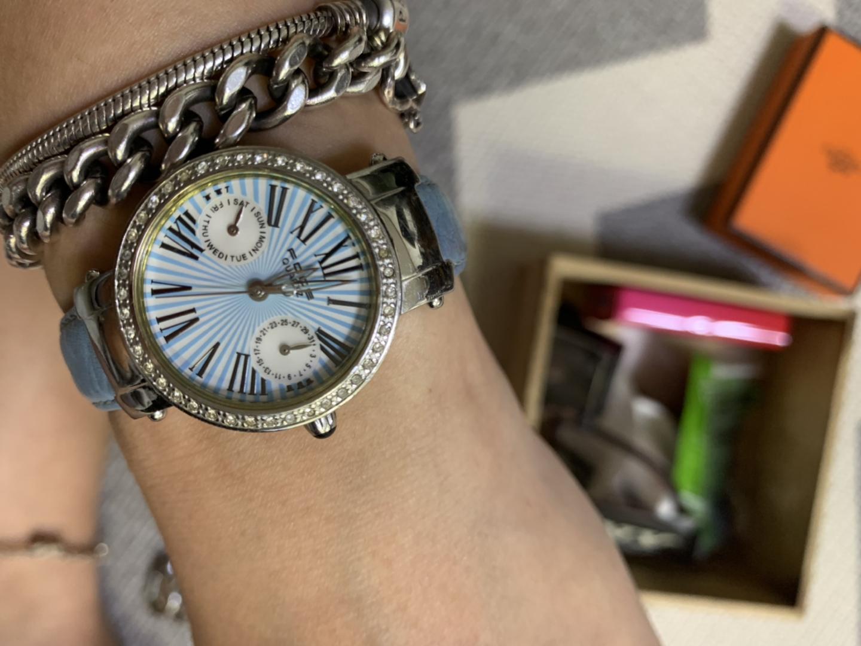 마이클코어스 포체 여성용 시계 메탈시계 가죽시계