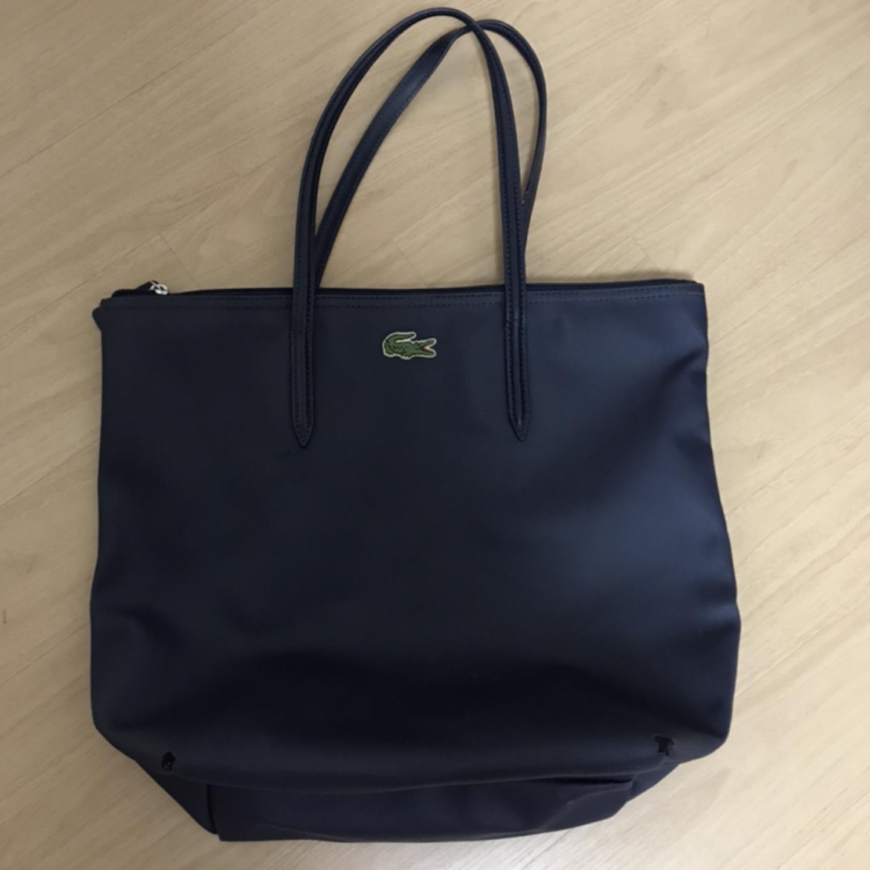 라코스테 네이비 가방