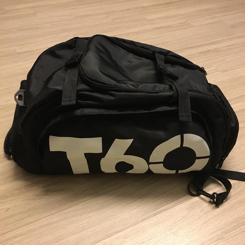 T60 축구 백팩 가방